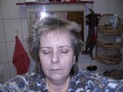 Gisela Morgens ohne kämmen