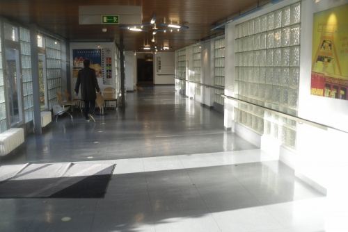 Krankenhaus Flur
